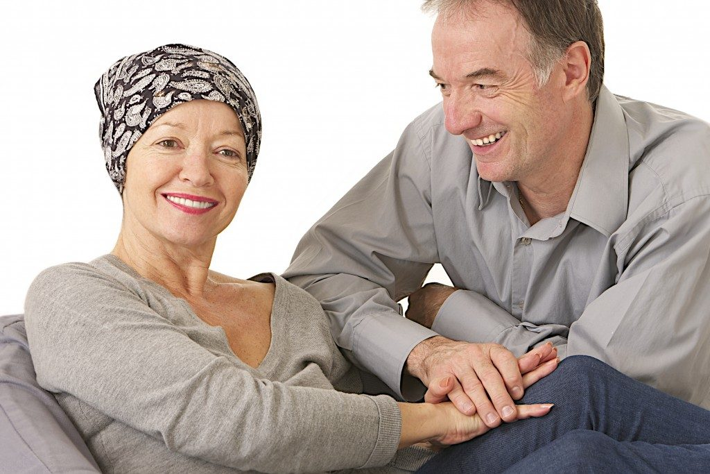 Husband supportive attitude after wife' s chemotherapy